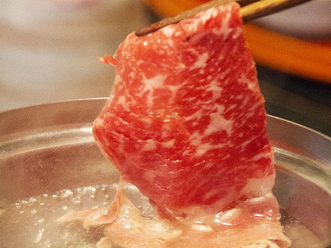 北海道産 牛リブロース しゃぶしゃぶ用(100g)